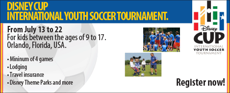 Disney Cup International Youth Soccer Tournament 2013
