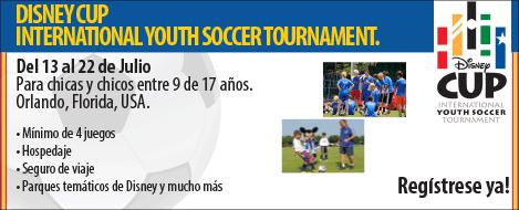 Disney Cup Torneo Internacional de Fútbol 2013