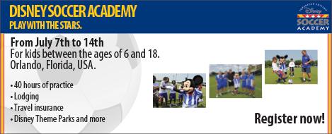 Disney Soccer Academy 2013