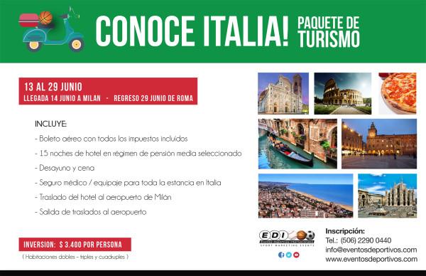 Viaja a Italia!